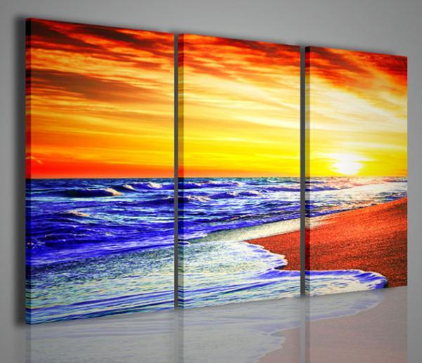 Quadri moderni quadri di natura e paesaggi seaview i for Arredamento natura
