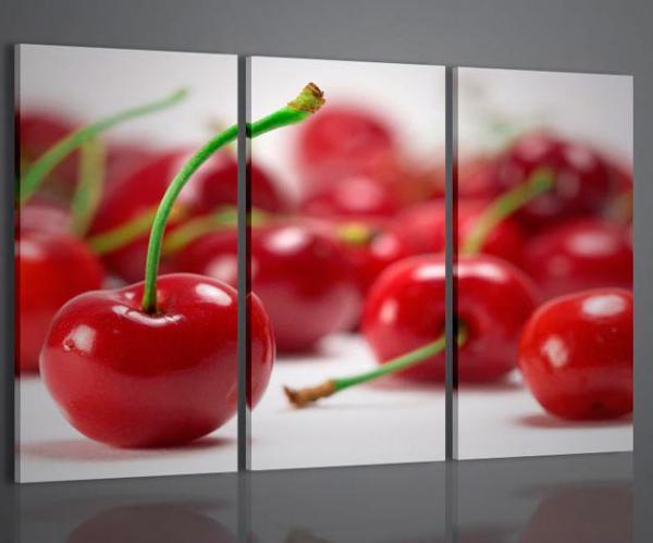 Quadri moderni quadri food drink cherries arredamento for Quadri arredamento moderno