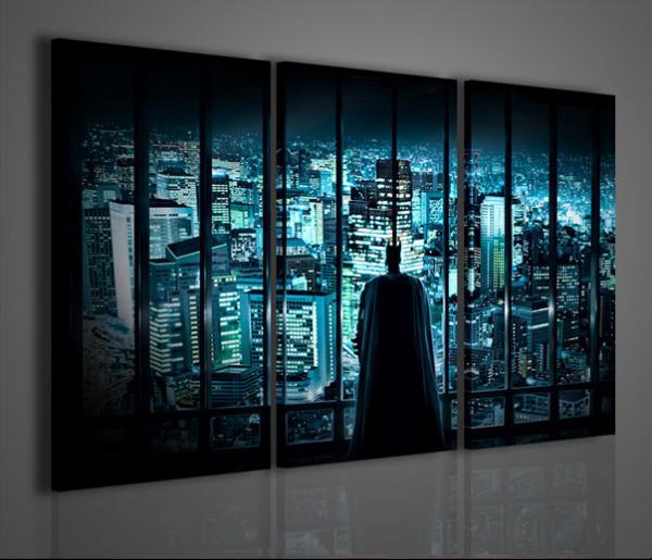 Quadri moderni quadri cinema batman arredamento moderno for Stampe arredo casa