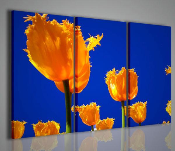 Quadri moderni quadri fiori e piante yellow tulip for Piante arredamento moderno