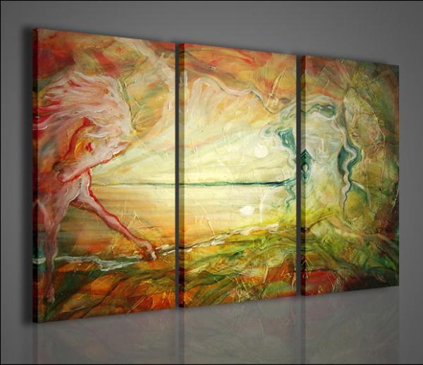 Quadri moderni quadri astratti mirror arredamento for Pittori astratti moderni