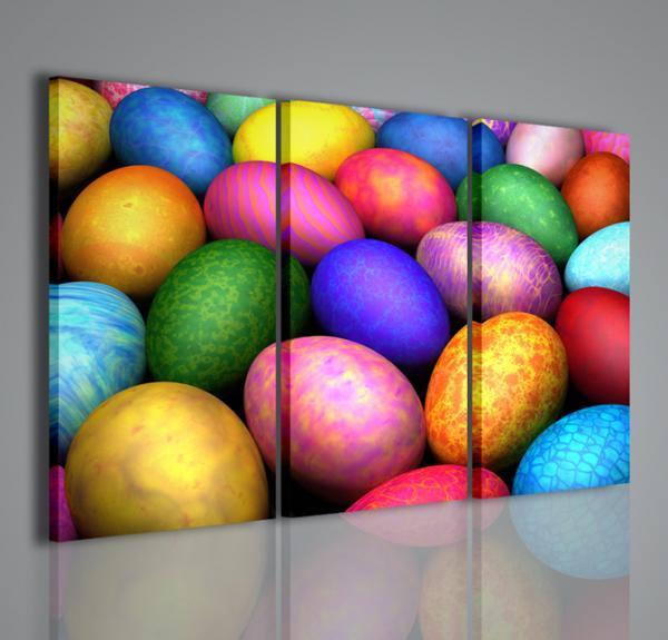 Quadri moderni quadri astratti eggs of color arredamento for Quadri su tela astratti