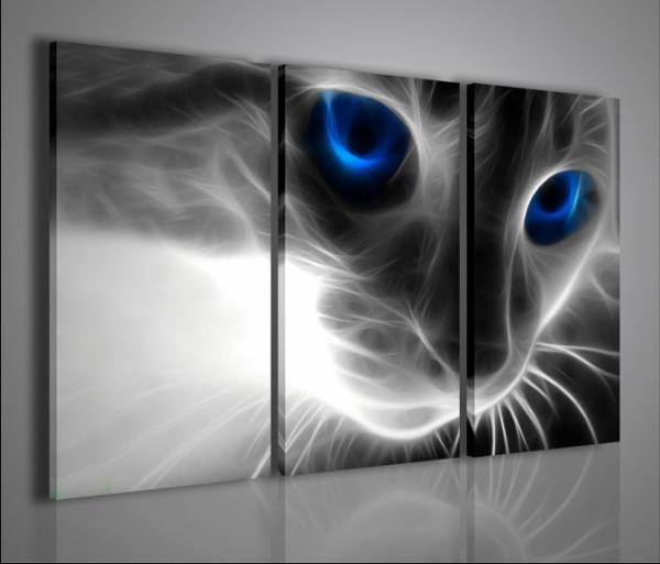 Quadri moderni quadri animali true cat arredamento for Quadri da arredamento moderno