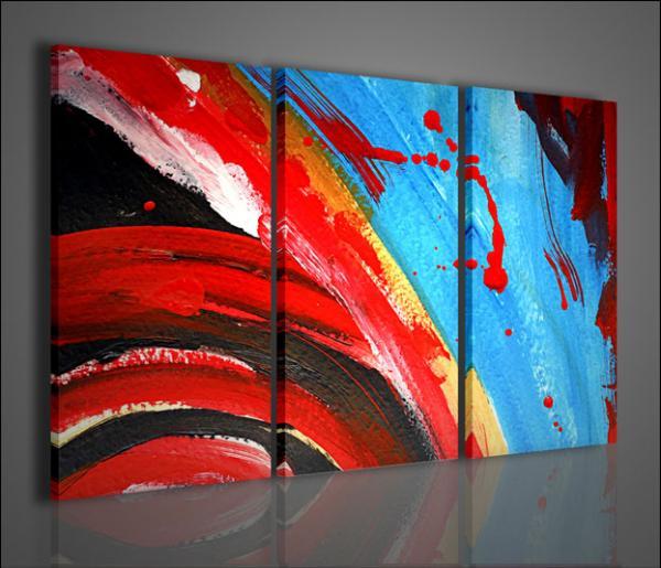 Quadri moderni quadri astratti contrast arredamento for Quadri astratti famosi