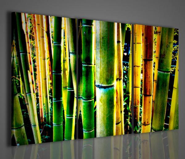 Quadri Moderni-Quadri Etnici-Bambù Detail | Arredamento moderno ...