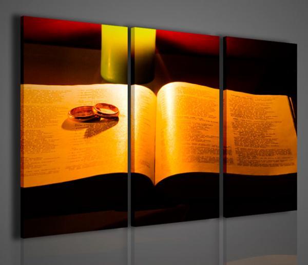 Quadri Moderni-Quadri Religiosi-The Bible | Arredamento moderno ...