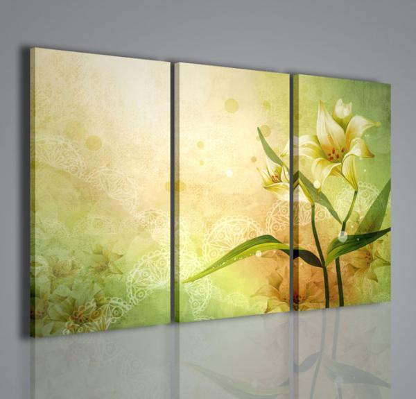 Quadri moderni quadri fiori e piante vector flower for Immagini di quadri con fiori
