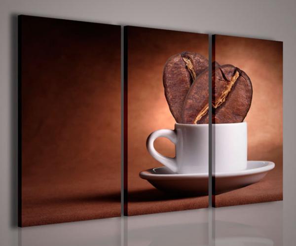 Quadri moderni quadri food drink coff iv arredamento for Quadri per soggiorni moderni